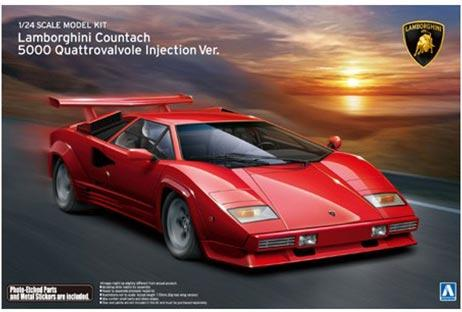 1 24 Lamborghini Countach 5000 Quattrovalvole Injection Aos 011553