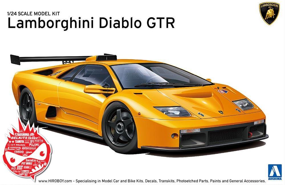 1:24 Lamborghini Diablo GTR