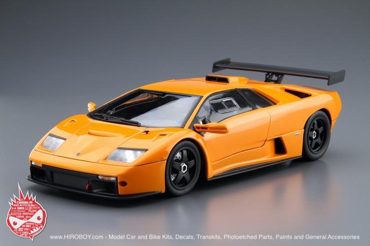 1 24 Lamborghini Diablo Gtr Aos 010693 Aoshima