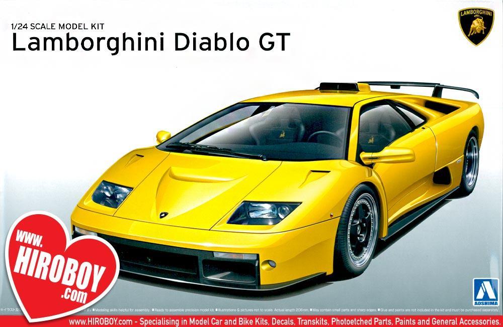 1:24 Lamborghini Diablo GT Model Kit