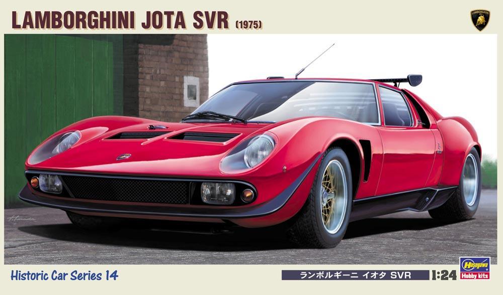1 24 Lamborghini P400 Miura Jota Svr Has Hc14 Hasegawa