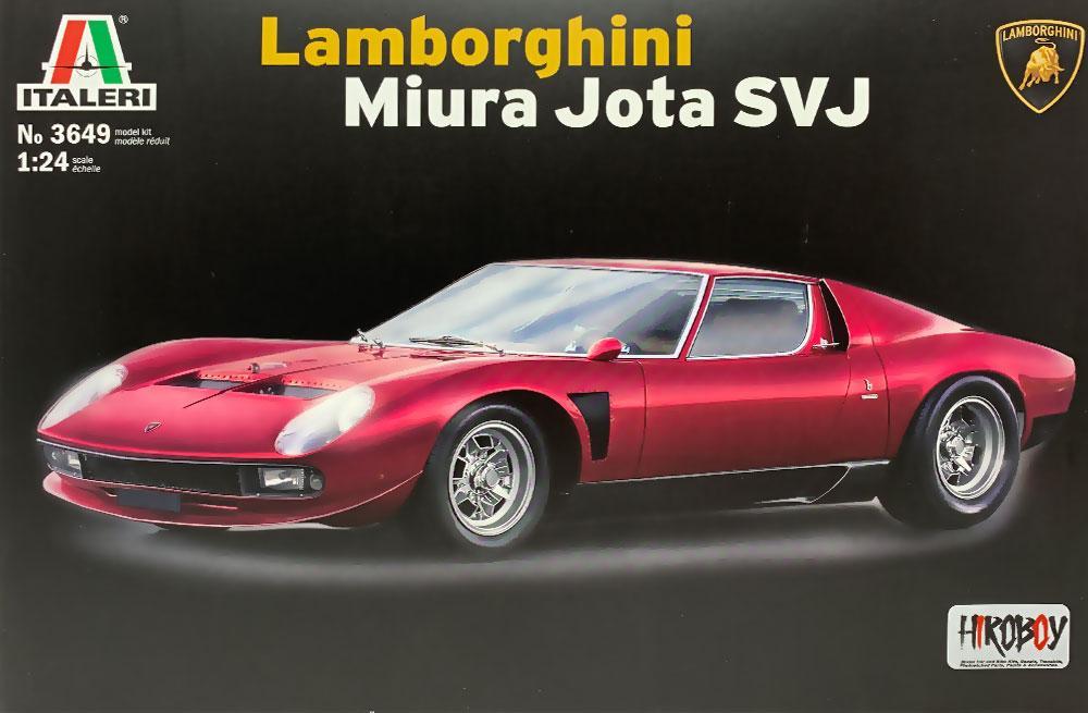 1 24 Lamborghini Miura Jota Svj It 3649 Italeri