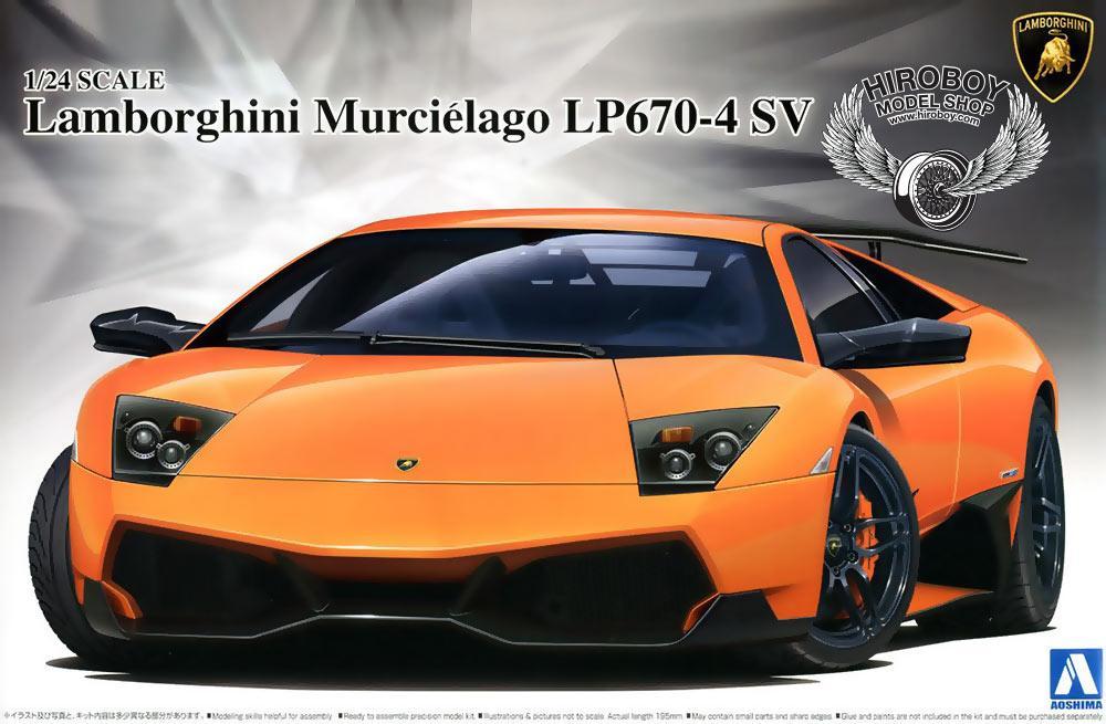 1:24 Lamborghini Murciélago LP670 4 SV