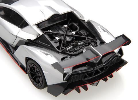 ... 1:24 Lamborghini Veneno Model Kit Deluxe C/w Engine Detail And  Photoetched Parts ...
