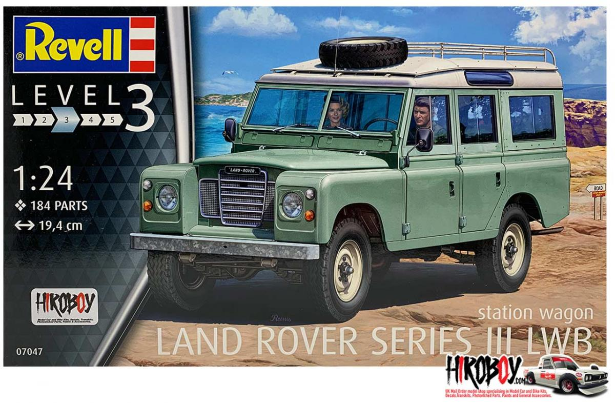 Revell 1//24 LAND ROVER Série III LWB Station Wagon # 07047