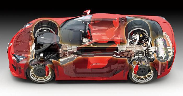 ... 1:24 Lexus LFA   24319 ...