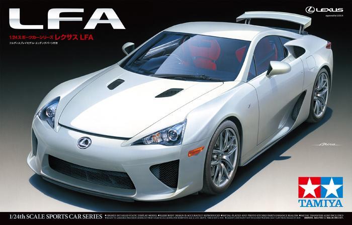 1:24 Lexus LFA   24319