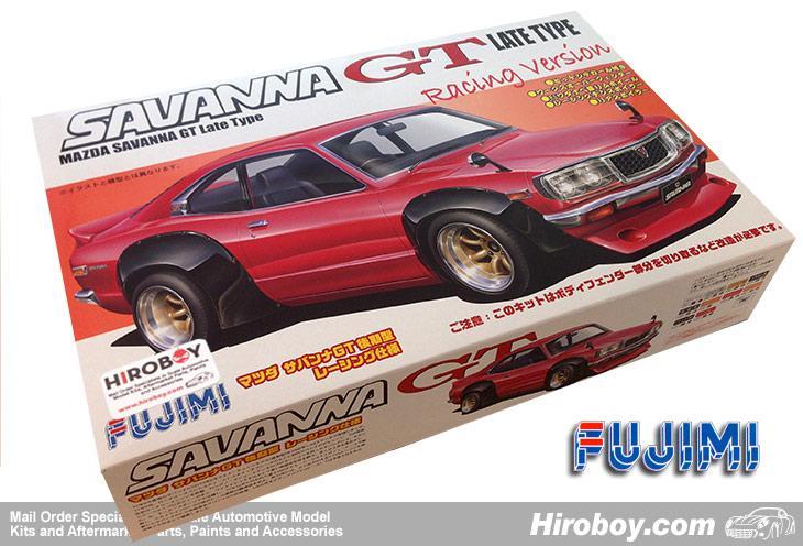 1:24 Mazda RX-3 Savanna GT Late Type Racing Version