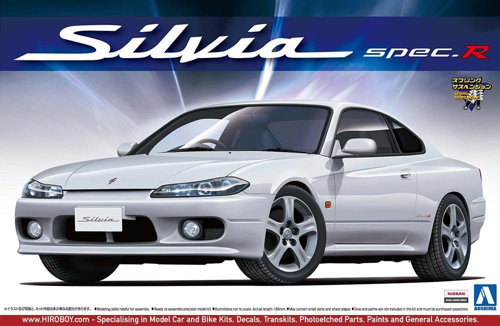 1:24 Nissan Silvia S15 Spec R Design