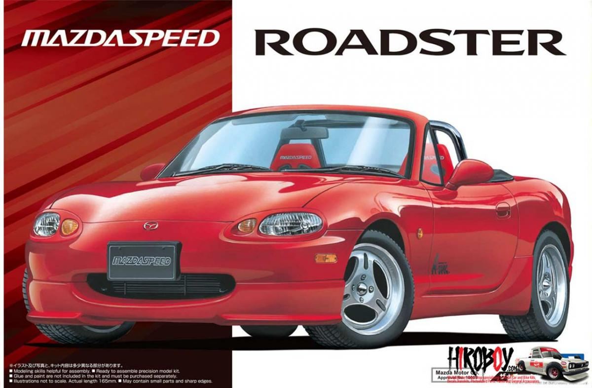 1 24 Mazda Speed Nb8c Mx5 Roadster A Spec 99 Aos 057698 Aoshima