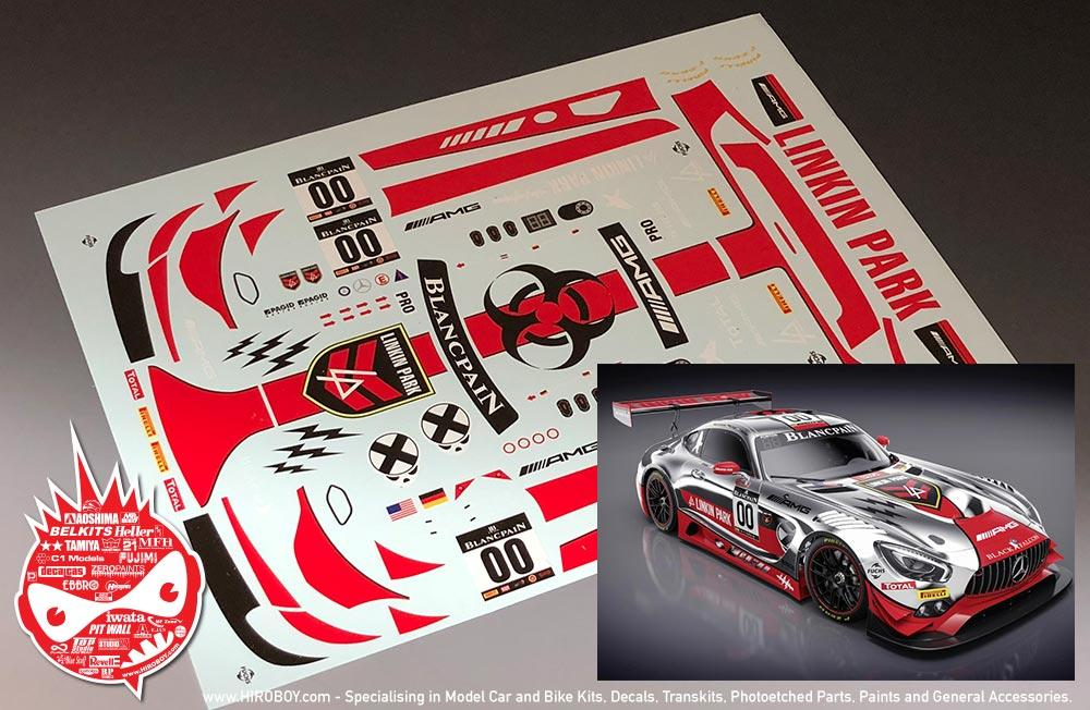 124 mercedes amg gt3 linkin park 00 decals