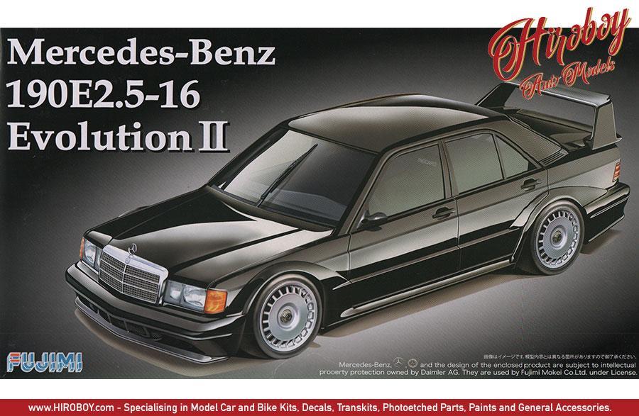 1:24 Mercedes-Benz 190E 2 5-16 Evolution II