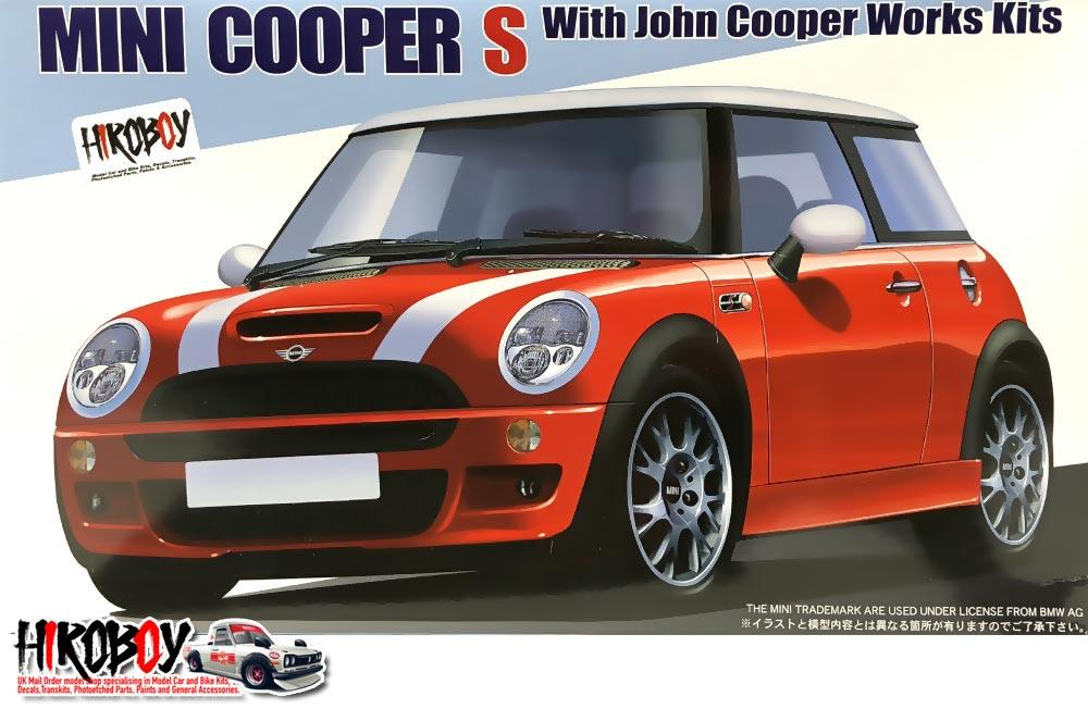 124 Mini Cooper S John Cooper Works Kit Fuj 12253 Fujimi