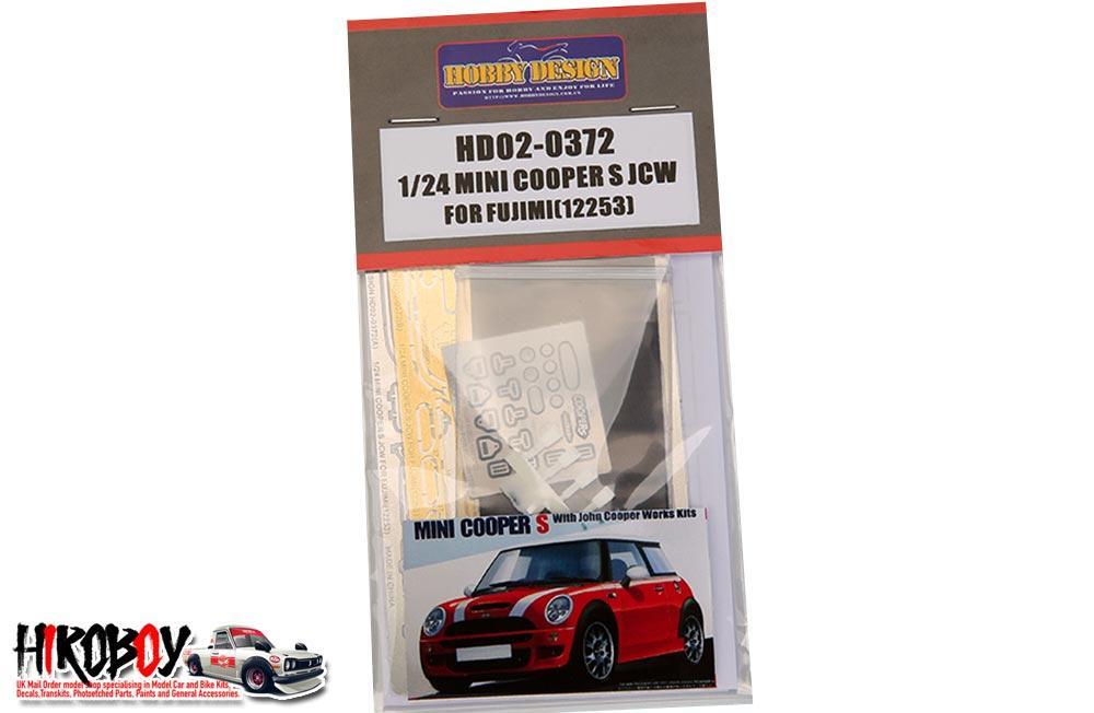 124 Mini Cooper S John Cooper Works Kit For Fujimi 12253pe