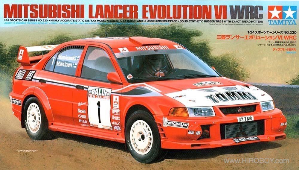 1:24 Mitsubishi Lancer Evo VI WRC - 24220 | TAM24220 | Tamiya
