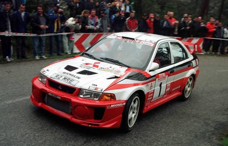 Evo  Rally Car Parts