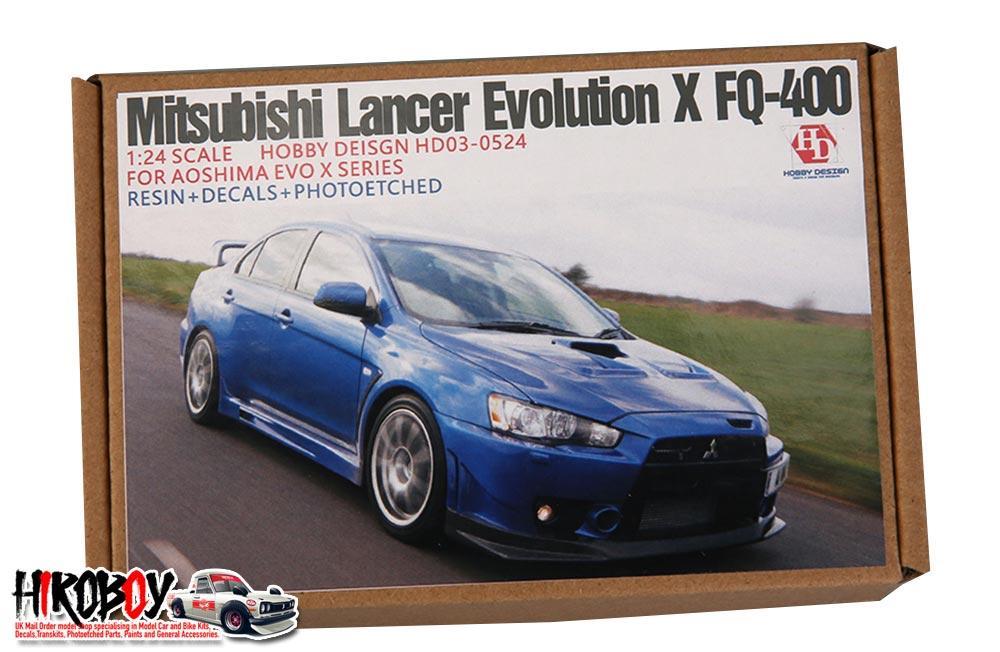 Mitsubishi Lancer Evolution X >> 1 24 Mitsubishi Lancer Evolution X Fq 400 For Aoshima Evo X Series