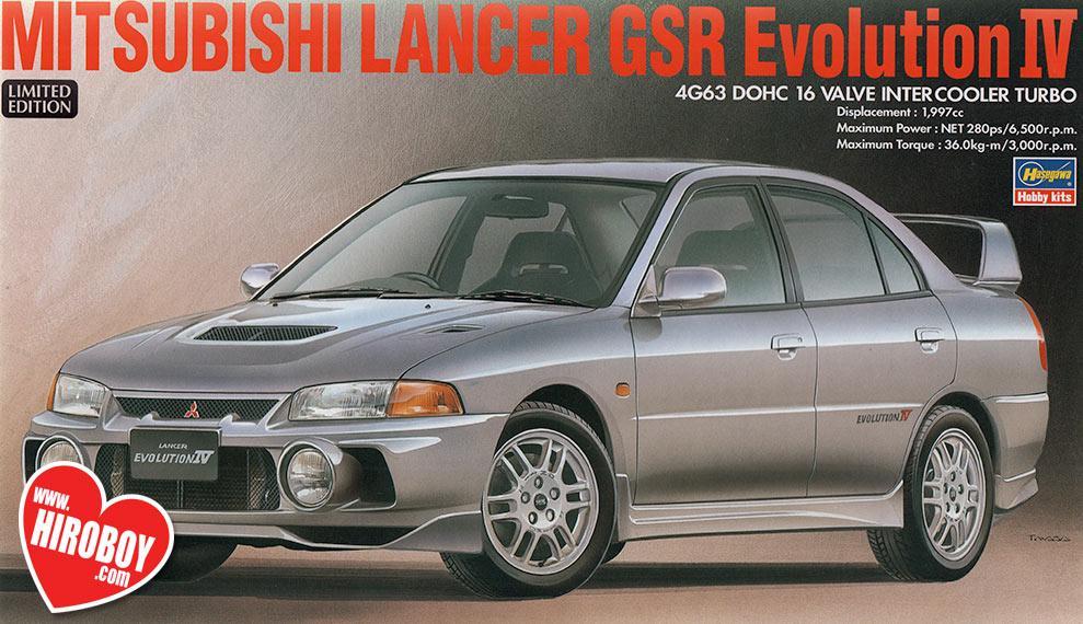 1 24 mitsubishi lancer gsr evolution iv evo 4 has 20257 hasegawa rh hiroboy com mitsubishi evolution 4 service manual Mitsubishi Lancer Evolution VIII