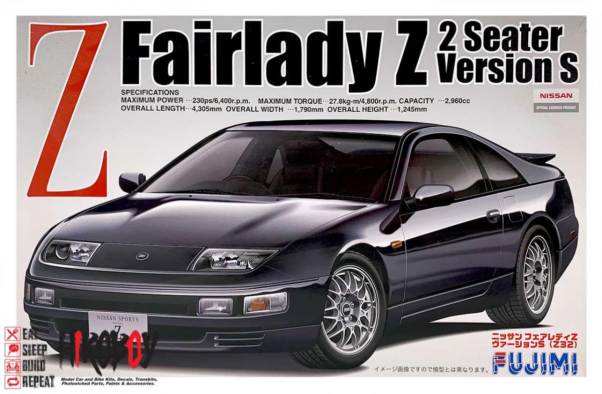 1:24 Nissan Fairlady Z (300ZX) 2 Seater Version S