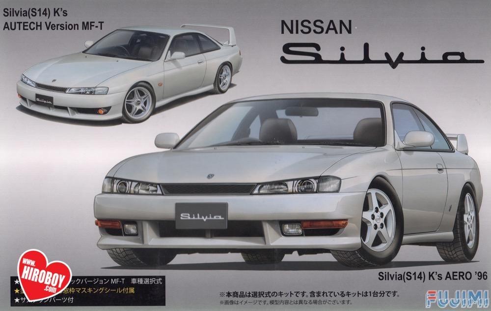 1:24 Nissan Silvia S14 Ku0027s Autech Vesion MF T   Model Kit