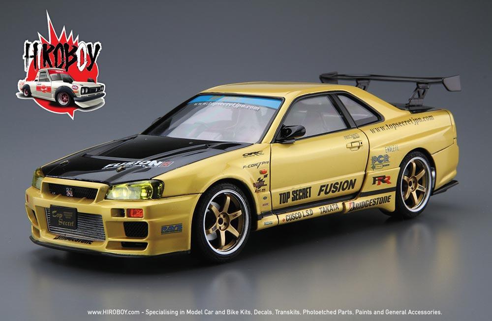 1:24 Nissan Skyline R34 GT-R