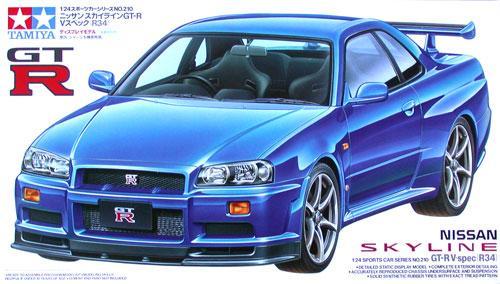 1:24 Nissan Skyline R34 GT R V Spec   24210
