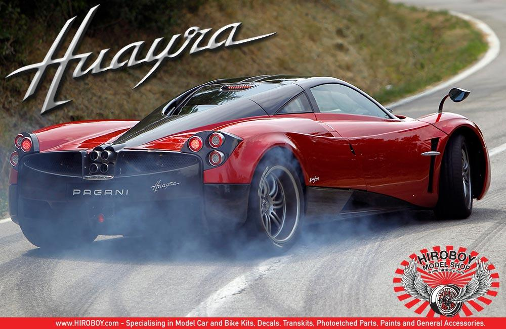 ... 1:24 Pagani Huayra   Aoshima Model Kit ...