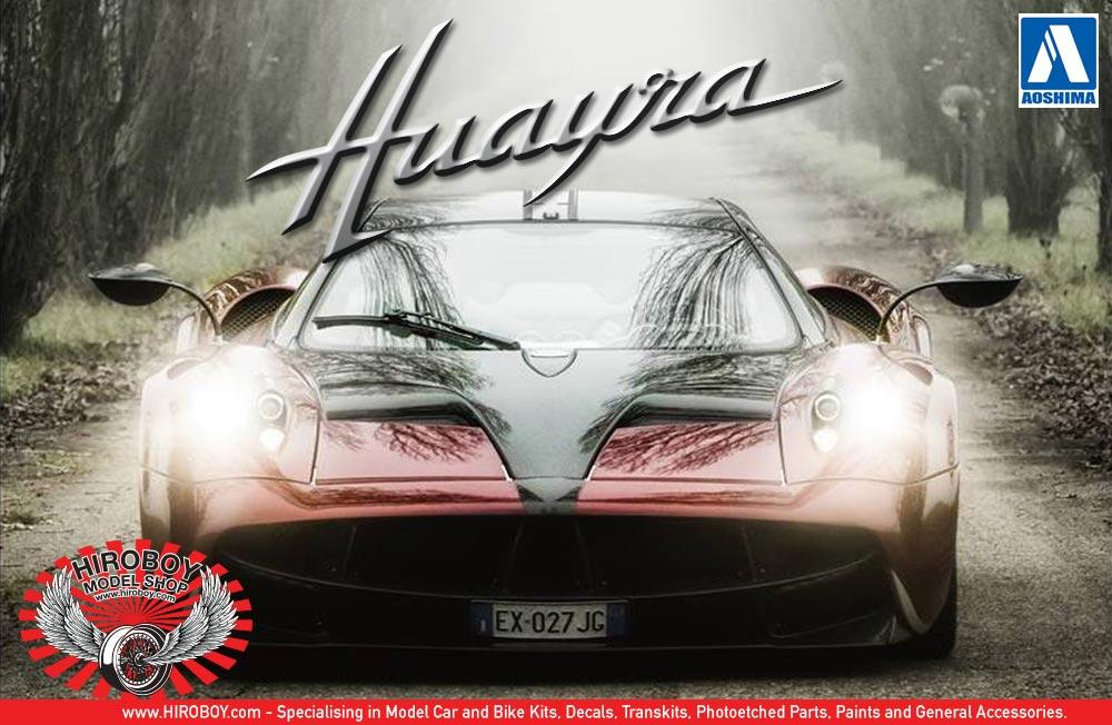 1:24 Pagani Huayra   Aoshima Model Kit