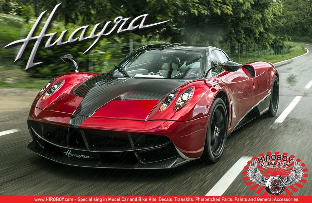 Lovely ... 1:24 Pagani Huayra   Aoshima Model Kit ...