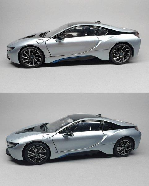 "Bmw I8: 1:24 BMW I8 20"" Turbine Wheels Set For Revell"
