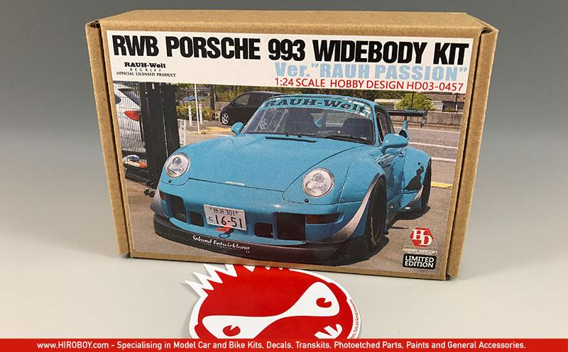 1:24 RWB Porsche 993 Widebody Kit For Ver