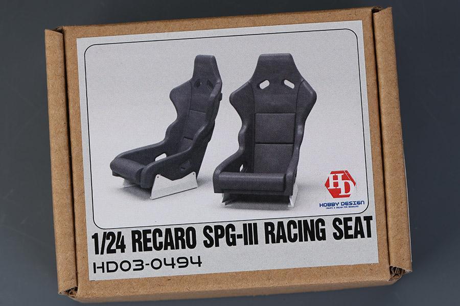 1:24 Recaro SPG-III Racing Seats (Resin+Decals)