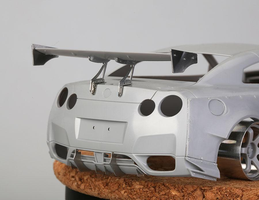 ... 1:24 Rocket Bunny Nissan GT R R35 Photoetched/Resin/Decals Detailing ...
