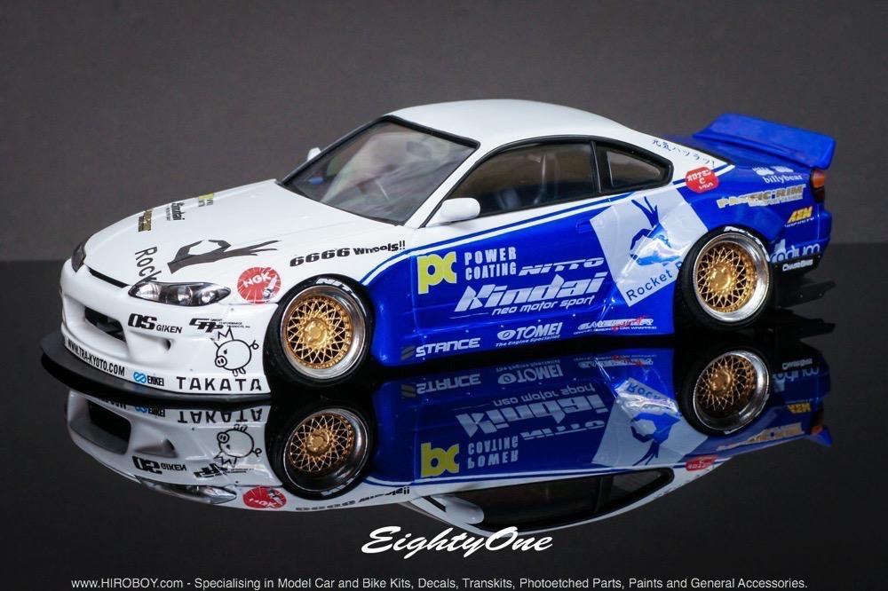 1:24 Rocket Bunny Nissan Silvia S15 Transkit