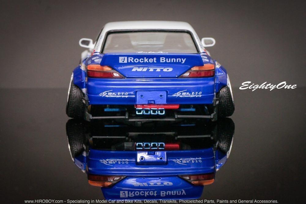 1 24 Rocket Bunny Nissan Silvia S15 Transkit F81 Tk015