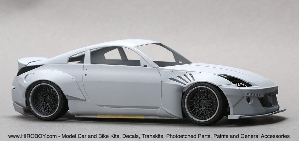 ... 1:24 Rocket Bunny Nissan 350Z Wide Body Kit (Resin+PE) ...