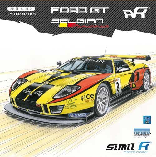 Gt Racing 2 The Real Car: 1:24 Simil'R Ford GT Belgian Racing FIA GT1 2011