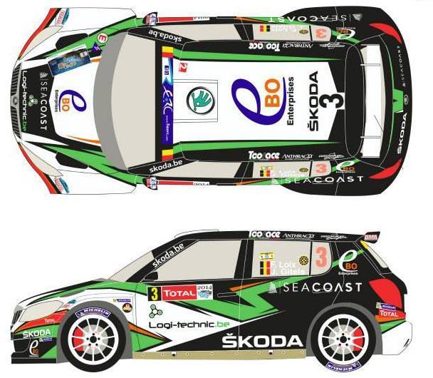 Decals 1//32 ref 1054 skoda fabia wrc aigner rallye monte carlo 2006 rally wrc