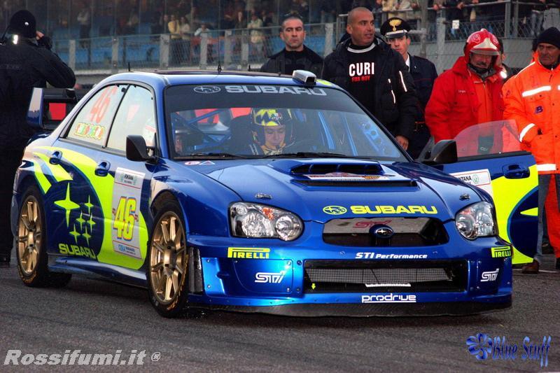 124 Subaru Impreza Wrc Vrossi Monza Rally Show 2005 Decals Bs