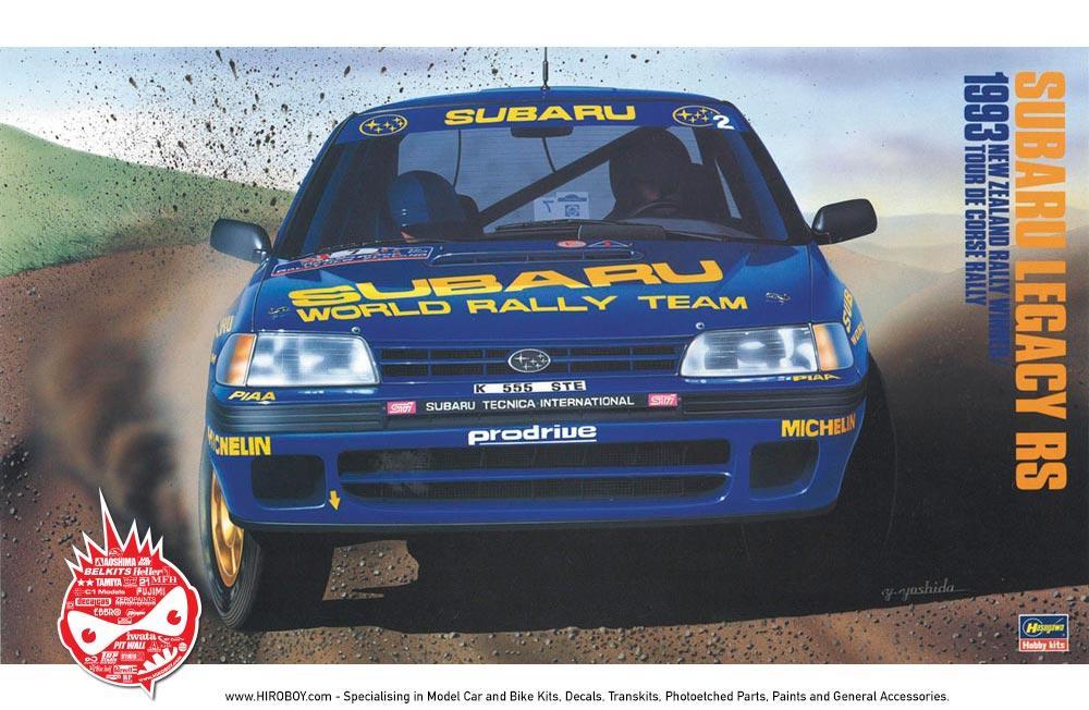 1 24 Subaru Legacy Rs 1993 New Zealand Rally Winner Tour De Corse