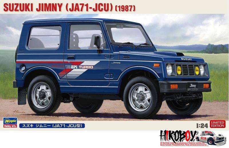 1 24 Suzuki Jimny Ja71 Jcu Has 20323 Hasegawa