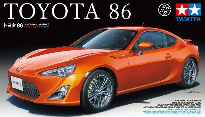 1:24 Toyota 86   GT86   FR S   24323