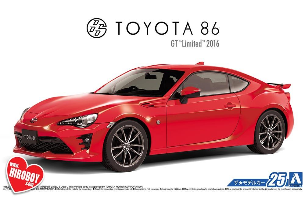 1 24 Toyota Gt86 Gt Limited 2016