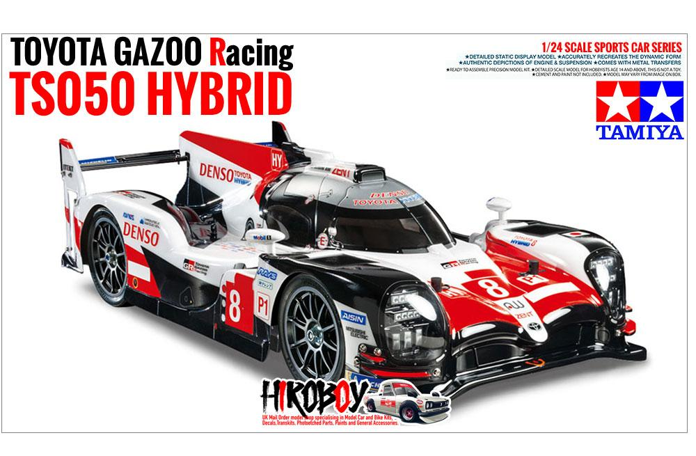 1 24 Toyota Ts050 Hybrid Gazoo Racing Hours Le Mans 2018 Tamiya 24349
