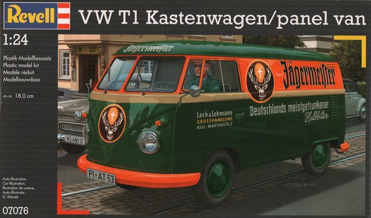 1 24 Vw Volkswagen T1 Transporter Kastenwagen Jagermeister Kit