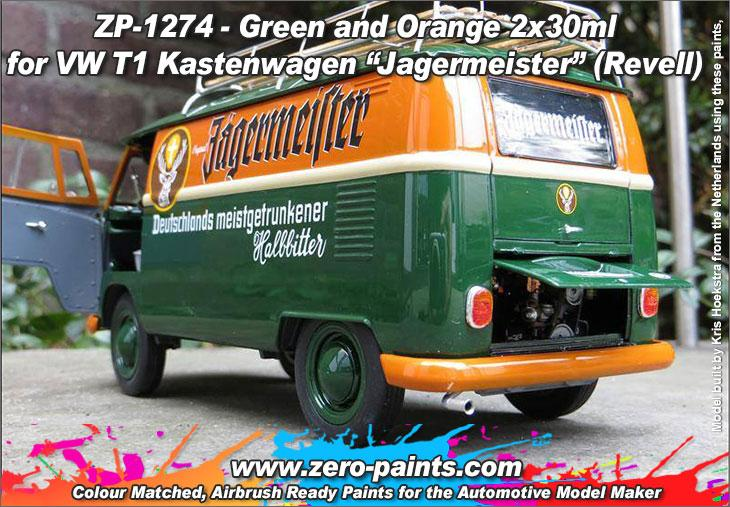 1 24 vw volkswagen t1 transporter kastenwagen jagermeister. Black Bedroom Furniture Sets. Home Design Ideas