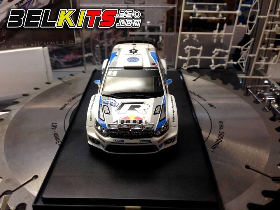 1:24 Volkswagen Polo R WRC - Belkits IN STOCK   BEL005 ...