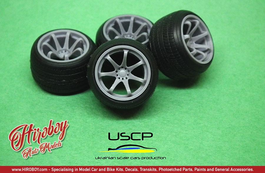 1:24 XXR 522 16'' Wheels with Tyres