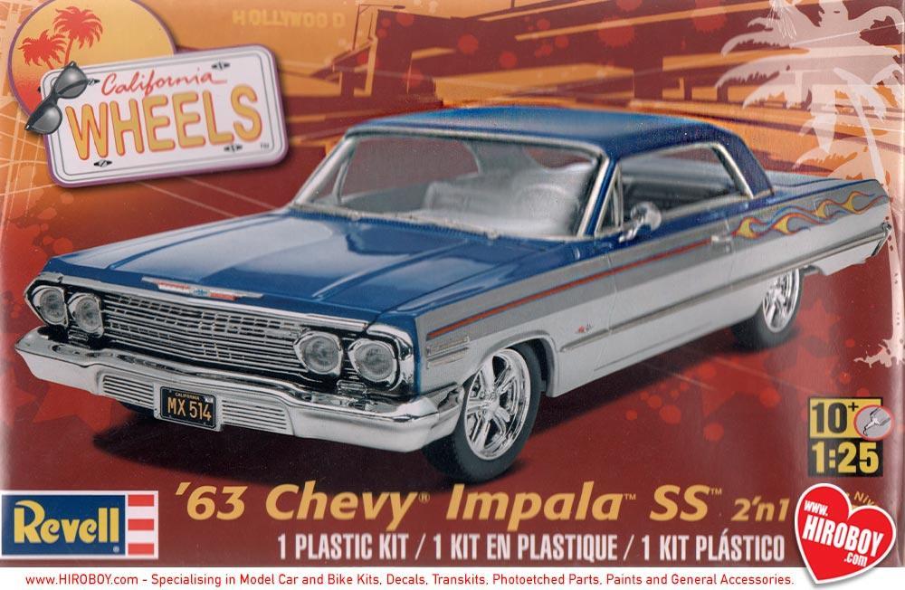 125 1963 chevy impala ss 2n1 model kit rev 85 4278 revell 125 1963 chevy impala ss 2n1 model kit publicscrutiny Choice Image