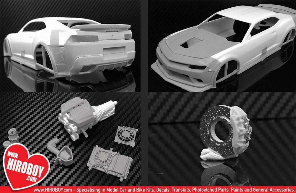 revell 1 25  1:25 Chevrolet Camaro Z28 (2014) Transkit (Revell) | PL-T24004 | Plamoz
